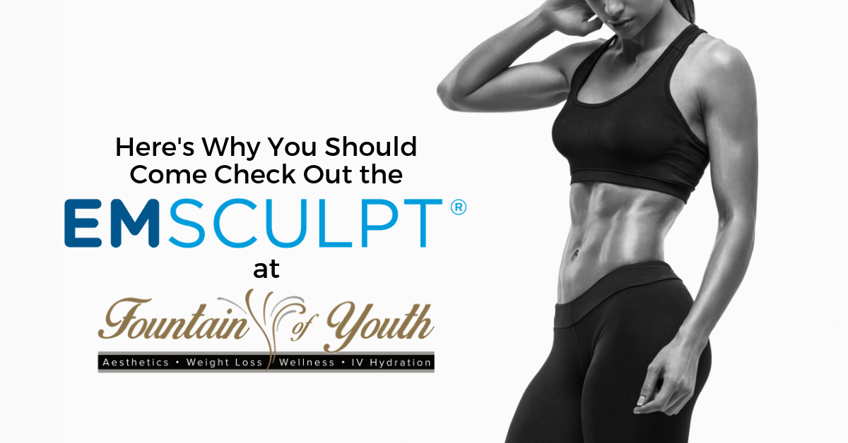 We Have a New Device Called EMsculpt and Here's Why You Should Come Check it Out!