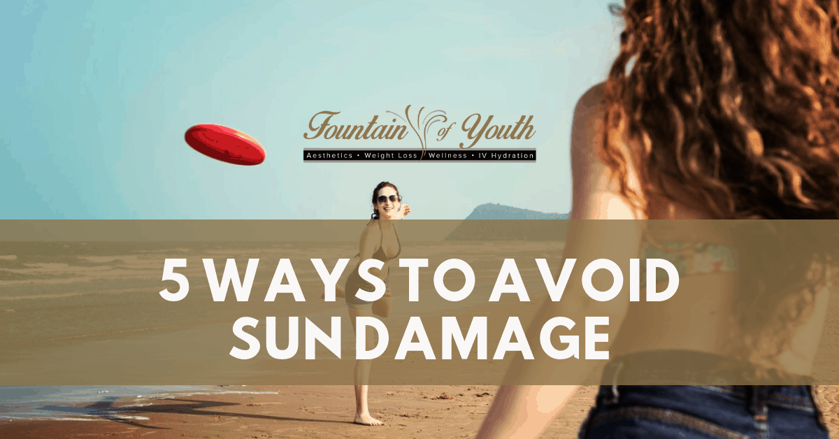 5 Ways to Avoid Sun Damage
